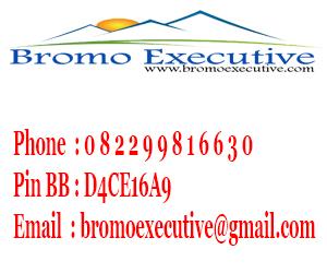 Kontak Bromo Executive
