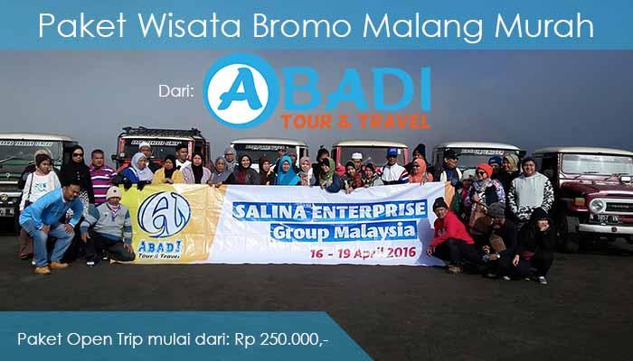 Paket Wisata Bromo Malang Murah Terbaik